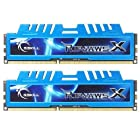 G.SKILL Ripjaws X Series 16GB (2 x 8GB) 240-Pin DDR3 SDRAM 1600 (PC3 12800) Desktop Memory F3-1600C9D-16GXM