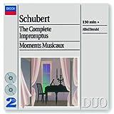 echange, troc  - Schubert : Impromptus - Moments musicaux (Coffret 2 CD)
