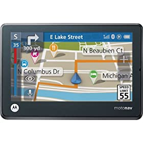 Motorola Motonav TN555 4.3-Inch Widescreen Bluetooth Portable GPS Navigator | New Product Releases