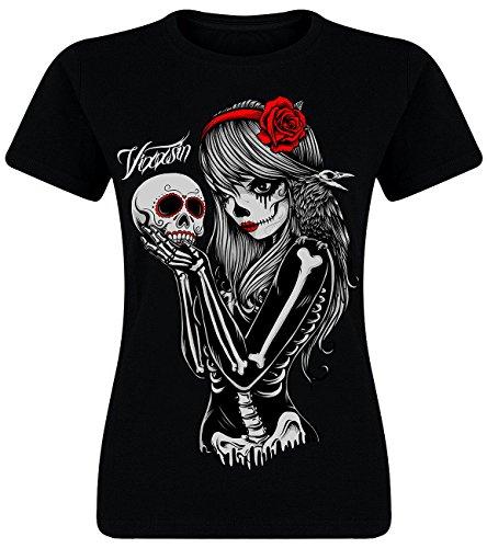 Vixxsin -  T-shirt - Maniche corte  - Donna nero X-Large