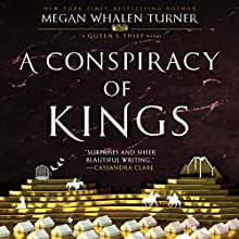 A Conspiracy of Kings Audiobook by Megan Whalen Turner Narrated by Steve West