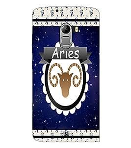 PrintDhaba zodiac Aries D-2768 Back Case Cover for LENOVO VIBE K4 NOTE (Multi-Coloured)