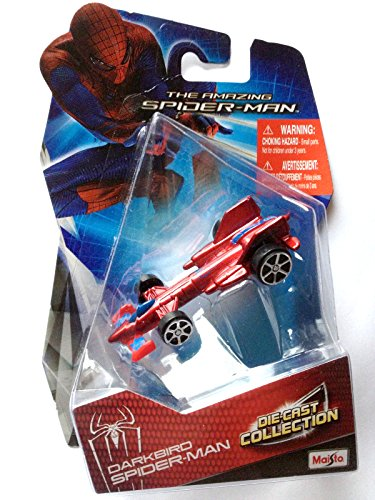Amazing Spider-Man DARKBIRD Die-Cast Collection Marvel Heroes Car - 1
