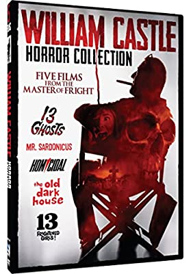 William Castle Film Collection - 5 Movie Pack: 13 Ghosts, Mr. Sardonicus, Homicidal, The Old Dark House, 13 Frightened Girls