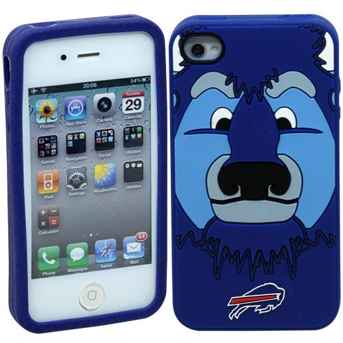 NFL Buffalo Bills Mascot Soft Iphone Case at Amazon.com
