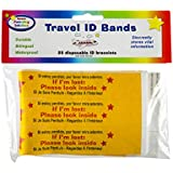 Travel ID bands (25/package)