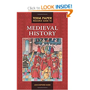 Medieval history term paper suggestions