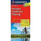 Potsdam - Havelland - Fläming: Fahrradkarte. GPS-genau. 1:70000 (KOMPASS-Fahrradkarten Deutschland)