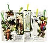 48 Wildlife Animal Bookmarks - Curriculum Projects & Activities & Animal Kingdom