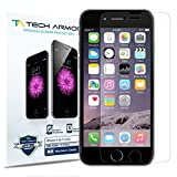 iPhone 6 Screen Protector, Tech Armor Apple iPhone 6 (4.7 inch ONLY) High Defintion (HD) Clear Screen Protectors -- Maximum Clarity and Touchscreen Accuracy [3Pack] Lifetime Warranty