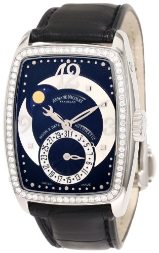 Armand Nicolet Women's 9633D-NN-P968NR0 TL7 Classic Automatic Stainless-Steel with Diamonds Watch