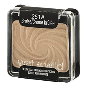 Wet n Wild Color Icon Eyeshadow Single 251A Brulee