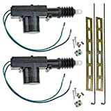 CfD® Universal Car Power Door Lock Actuator 12-Volt Motor (2 Pack)