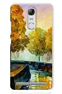 IndiaRangDe Hard Back Cover FOR Lenovo Vibe K5 Note