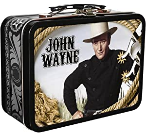John Wayne DVDs in Collectable Tin with Handle
