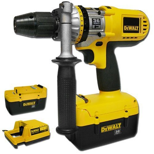 DEWALT DC900KL 36-Volt 1/2-inch Lithium Ion Cordless Hammerdrill/Drill/Driver Kit with NANO Technology