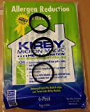 Kirby Universal Bags: 1 Pack (6 bags) of Universal HEPA White Cloth Bags Kirby #204811 and 3 Kirby Belts #301289 - Genuine Kirby Product - shipped by BuyParts