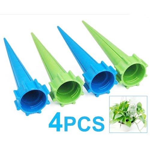 TOOGOO (R) 4 x Annaffiatoio Giardino Spikes Pianta Waterers per vacanza bottiglia sistema di irrigazione