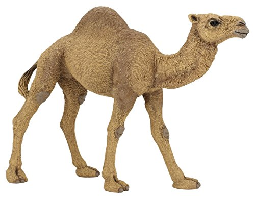 dromadary-6-inch-animal-figure-hand-painted-figure-wild-animals-toy-camel