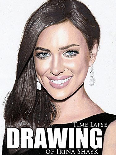 Clip: Time Lapse Drawing of Irina Shayk