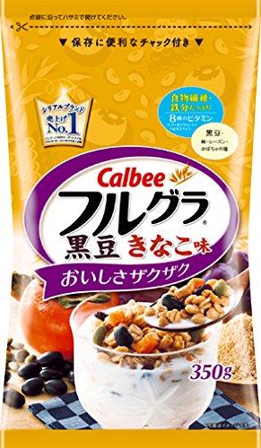 カルビー フルグラ黒豆きなこ味 350g
