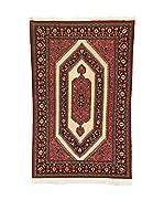 L'Eden del Tappeto Alfombra Qom Kork Rojo / Marrón 220  x  142 cm