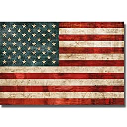Artistic Home Gallery 2436517S Allegiance By Luke Wilson Premium Stretched Canvas Wall Art