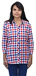 Romano Women's Red Cotton Top