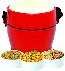 Oliveware Majestic Lunch Box With 3 Container (LB10)