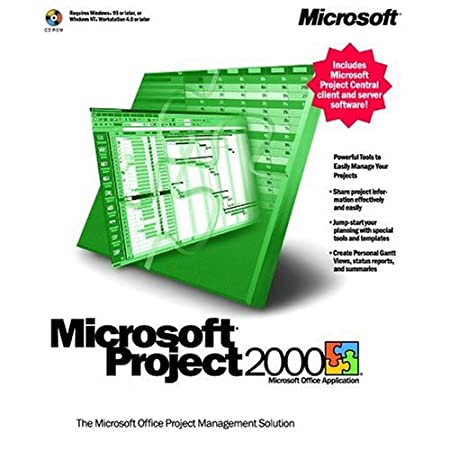 Microsoft Project 2000 (Academic)