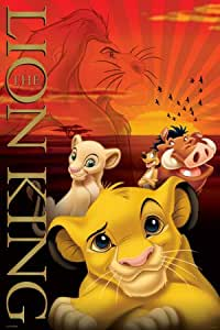 FPP32666 Disney Lion King Metallic Signature 61cm x 91.5cm maxi poster