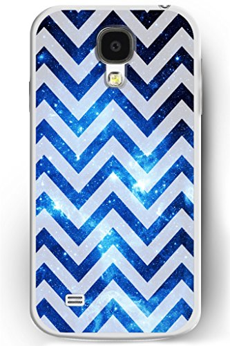 S4 Case, Samsung Galaxy S4 Case Slim Fit Hard Back Cover for Galaxy S4 Sparkle Blue Galaxy Pattern (Pink 3d Melt Ice Cream Galaxy S4 compare prices)