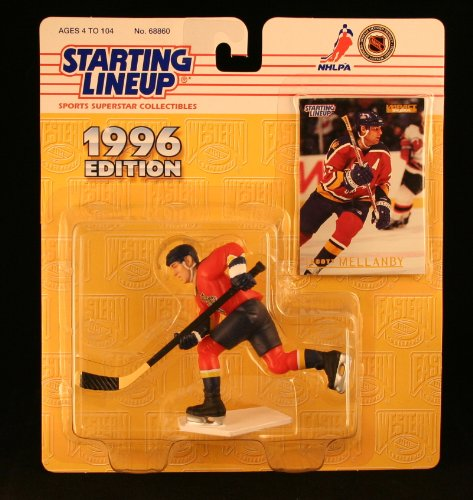 SCOTT MELLANBY / FLORIDA PANTHERS 1996 NHL Starting Lineup Action Figure & Exclusive Collector Skybox Trading Card - 1