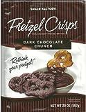 Dark Chocolate Crunch Pretzel Crisps - 20 oz - SUPER VALUE 2 PACK