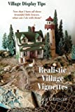 img - for Realistic Village Vignettes: Now that I have all these beautiful little Houses, what can I do with them? by Leigh E. Gieringer (2013-08-01) book / textbook / text book