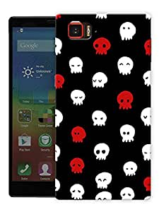 """Cute Ghosts Printed Designer Mobile Back Cover For """"Lenovo Vibe Z2 Pro K920"""" By Humor Gang (3D, Matte Finish, Premium Quality, Protective Snap On Slim Hard Phone Case, Multi Color)"""