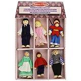 Melissa & Doug Wooden Family Doll Set ~ Melissa & Doug