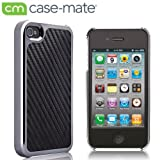 Case-Mate There 2.0 Case with Screen Protector, Black Carbon Fiber Leather ベアリー・ゼア2 ブラック・カーボンファイバー・レザー CM012350