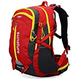 Altosy 40 Hiking Pack Cycling Hiking Backpack Water-resistant Daypack 2387 (Red)