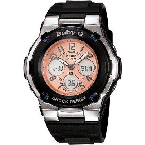 Casio BGA110-1B2C 44mm Black Plastic Band & Case Women's Watch