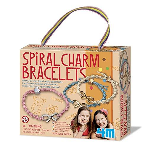 4M Spiral Charm Bracelets Kit - 1