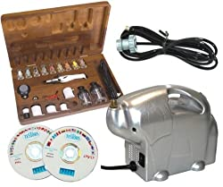 AZTEK A480 Airbrush Set A7778 ABD TC-16 Compressor