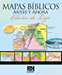 Mapas Biblicos Antes y Ahora: Edicion...
