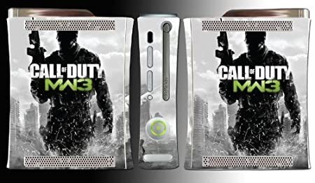 Call of Duty Modern Warfare 3 Black Ops 2 Game Vinyl Decal Skin Protector Cover 12 for Microsoft Xbox 360
