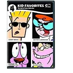 4 Kid Favorites Cartoon Network: Hall of Fame