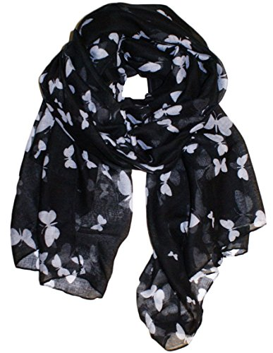 uk-seller-new-butterfly-print-ladies-celebrity-style-long-scarves-maxi-scarf-stole-wrap-sarong-shawl