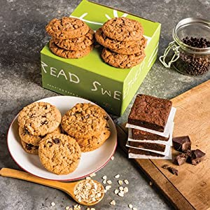 Gluten-Free Fresh Baked Gourmet Cookie (14) & Brownie (4) Gift Box