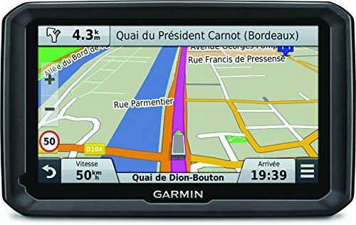 Garmin dezl 770LMT - GPS Poids Lourds Écran 7 Pouces - Appel Mains Libres et Commande Vocale - Info Trafic et Carte (45 Pays) Gratuits à Vie