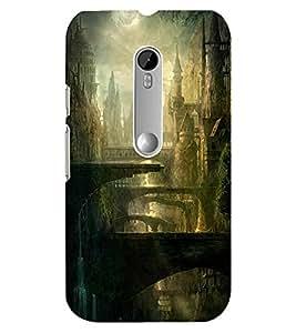 Mental Mind 3D Printed Plastic Back Cover For Motorola 3DMOTOG3-G8062