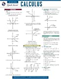 Calculus - REA's Quick Access Reference Chart (Quick Access Reference Charts) (0738607231) by Editors of REA
